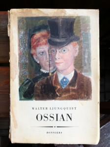 Birger Ljungquist gjorde flera av omslagen till brodern Walters böcker.