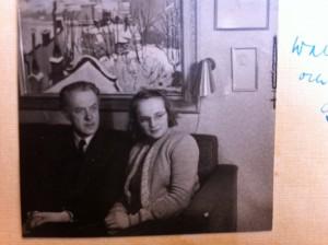 Nyförälskade: Walter och Gerda Antti.