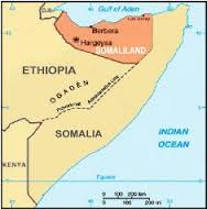 Somaliland är en del av Östafrika