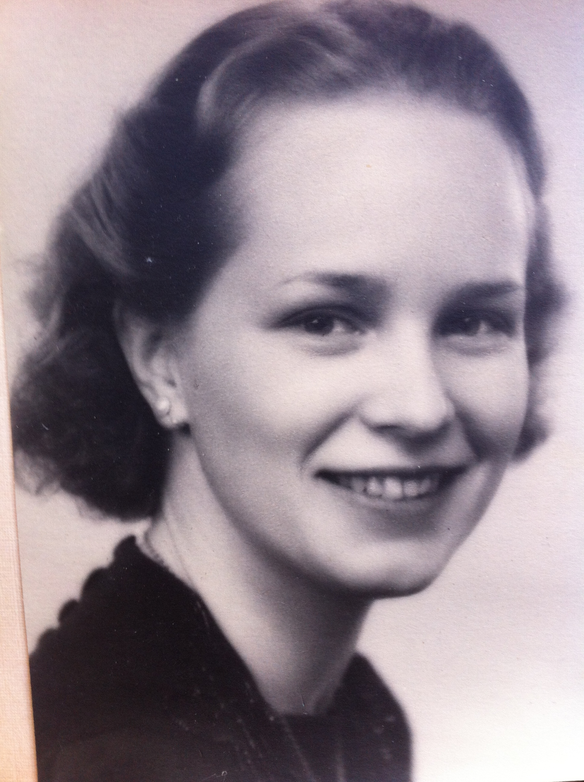Walter Ljungquist-beundraren Claire Neuman, 19 år
