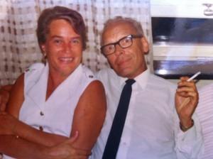 Herr och fru Brandelius.