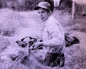 Att gräva betraktades som en av huvuduppgifterna.